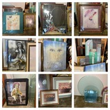 Great Group of Prints & Frames