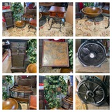 Decorative Side Stands, Magazine Rack, Plant Stand & More