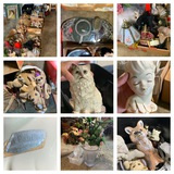 Great Group of Angels Figurines, Vases, Animal Statues, Taco Bell Stuffed Dogs & More