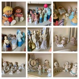 Great Group of Avon Bottles, Vintage StarPower Cabbage Patch Dolls,  Banks, & More