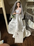 Princess Catherine Royal Elegance Bride Doll with Case and Lid