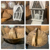 Bird Cage and Basket