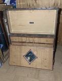 Vintage Stallman's Dresser Trunk by Frank Stallman Made in Columbus Ohio