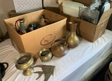 Brass & Copper Items, Tupperware, Pampered Chef, George Foreman Grill & More