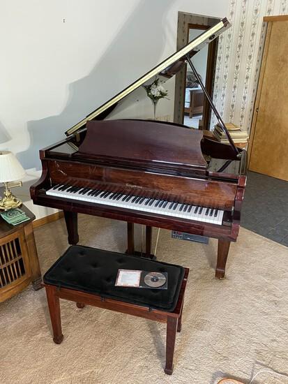Grand Piano, lawn equipment, primitives, tools etc
