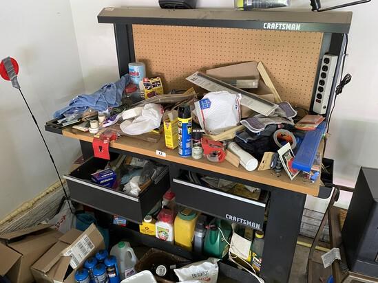 Metal Craftsman Workbench