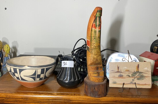 Group lot of vintage Native American pieces