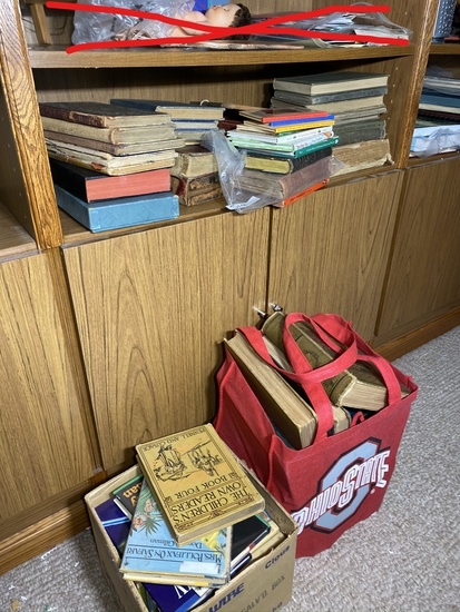 Large lot of older books and more