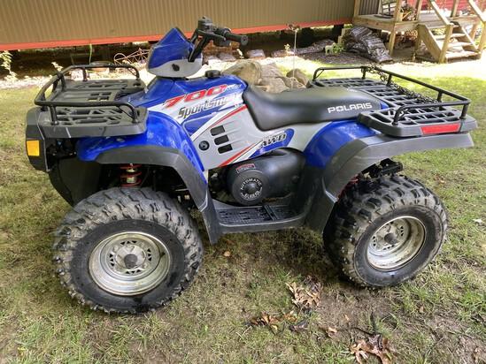 Polaris 700 Twin Sportsman Four Wheeler ATV