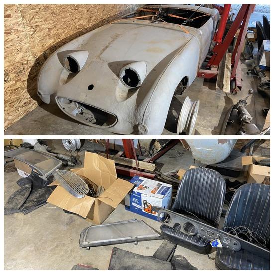 "1961 Austin-Healey Mark I ""Bugeye"" Sprite Project Car"