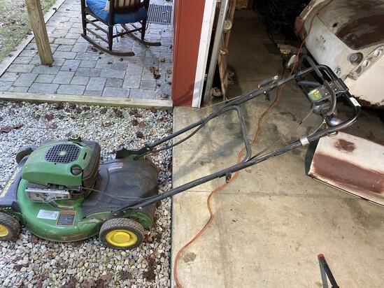 John Deere Push Lawn Mower