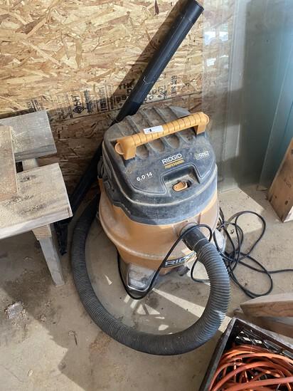 Ridgid Professional Shop Vac Vacuum