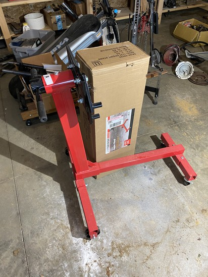 Pittsburgh Engine Stand with box