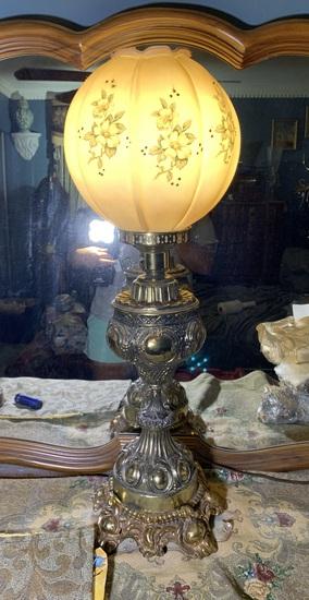 Decorative Painted Lamp