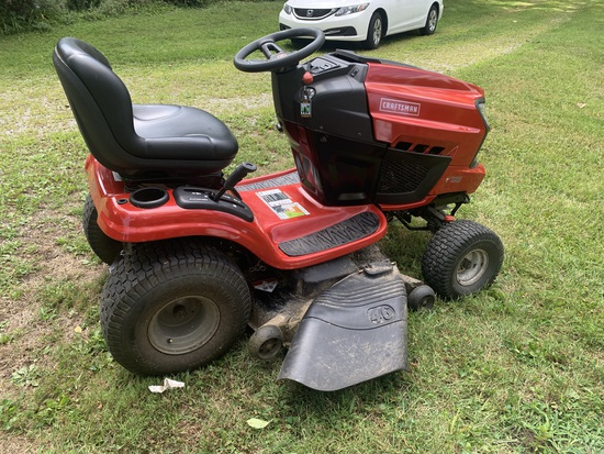Craftsman 20.0 HP V-Twin  Electric Start 46 inch Mower Automatic Garden Tractor