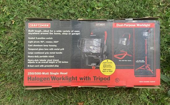 Craftsman Halogen Worklight
