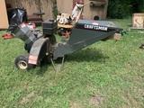 Craftsman 8 HP Shredder Wood Chipper.  Has Compression.