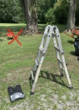 Gorilla Ladder with Accessories.  See Photos for Details