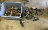 Group of Routers, Biscuit Cutter, JRoller & More
