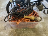 Large Group of Extension Cords