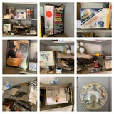 Garage Cabinet Cleanout - Drill Doctor Sharpener, Chimney, Brush, Tools & More