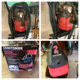 Craftsman Wall Mounted Shop Vac with Accessories