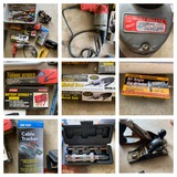 Hand Tools - Milwaukee Screw Gun, Battery Charger, Planes & More