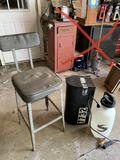 Mail Box, Shop Stool & Sprayer
