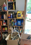Garage Corner Clean out - Oil Filters, Grease Guns, Chemicals & More