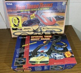 Vintage Twin Turbo Trains & Spiral Tier Night Chaser Tracks