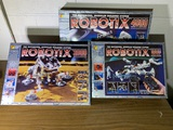 Vintage Robotix Sets including 1000, 2000, & 4000 by Learning Curve Toys.  See Photos.