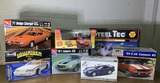 Group of Model Cars by AMT & Revell.  See Photos.