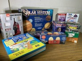 Group of VIntage Educational Toys.  See Photos