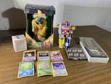 Power Ranger Banks,Pokemon Cards, & More