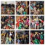 Great Group of Vintage Action Figures - Power Rangers, Ninja Turtles, Dick Tracy, Batman & More