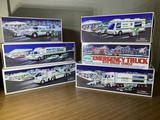 Group of 6 Hess Trucks.  See Photos.
