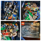 Huge Lot of Legos - Unsure if Star Wars Set is Complete.  The Box is Empty