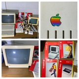 Vintage Apple IIC Computer System with Accessories & Applecolor Composite Monitor.  See Photos.