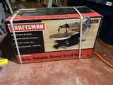 Craftsman Variable Speed Scroll Saw.  New in Box