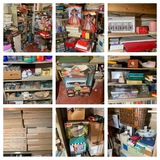 Clean out Basement Backroom - Glassware, Barbies, Books, Collector Plates & More