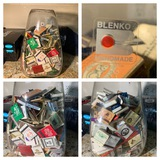 Blenko Vase Full of Matchbooks