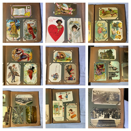 Great Group of Vintage Postcards