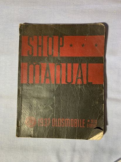 1937 Shop Manual for Oldsmobile