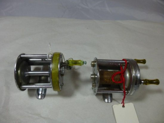 Pair Of Vintage Fishing Reels - South Bend And Shakespeare