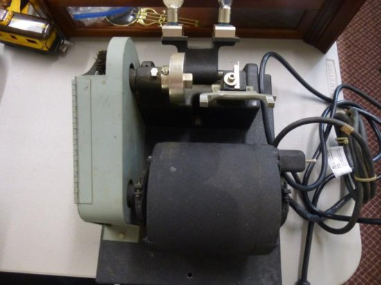 Vintage Speedex Key Cutting Machine