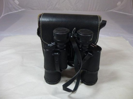 Vintage Binoculars By Binolux W/case