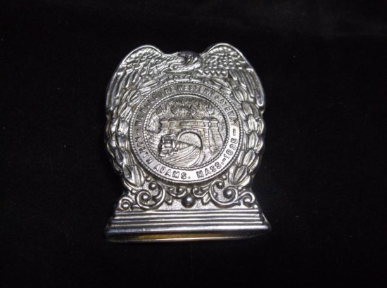 Vintage North Adams Massachusetts Police Badge