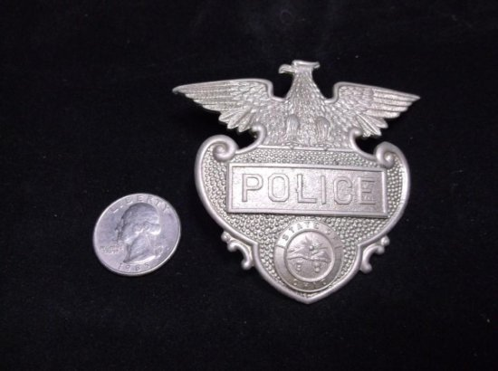 Antique State Of Ohio Police Badge W/state Seal