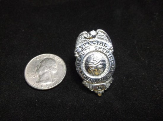 Seneca County Ohio Deputy Sheriff Special Police Badge