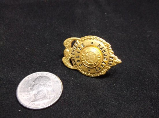 Vintage Lake Worth Florida Asst. Chief Police Badge